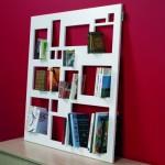 Decoração de estantes de livros