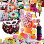 Decoração de Carnaval barata