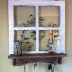 Decoração de janelas antigas