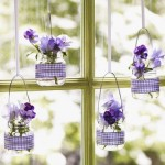 Decoração para janelas de vidro