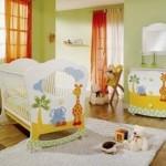 Ideias para decorar quarto de bebé