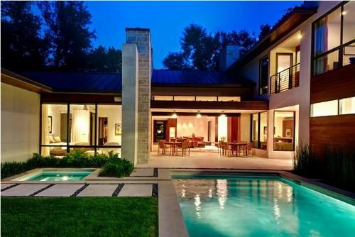 Ideias para reformar casas for Modern contemporary homes for sale dallas