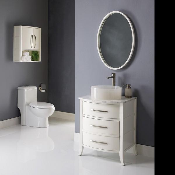 Banheiros modernos e simples