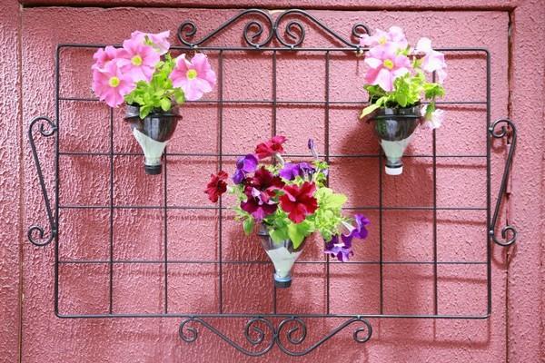 jardinagem-decoração-garrafas