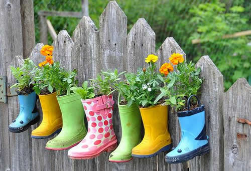 Jardinagem e decoração e reciclagem