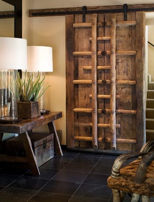 Fotos de decoração de móveis rústicos