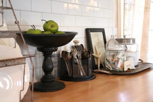 objetos decorativos para cozinha