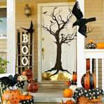 decoração de portas de madeira