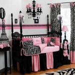 decoração de zebra com rosa