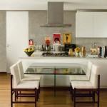 Salas conjugadas com cozinhas
