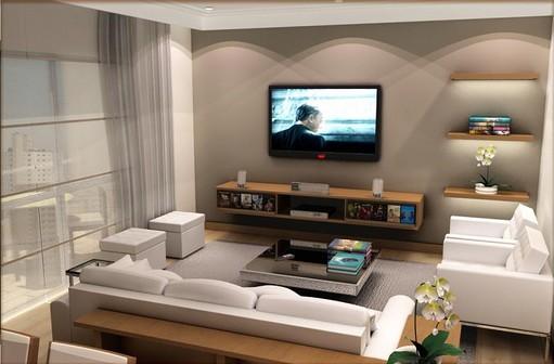 Decoração de salas de tv modernas