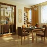 salas de estar e jantar planejadas