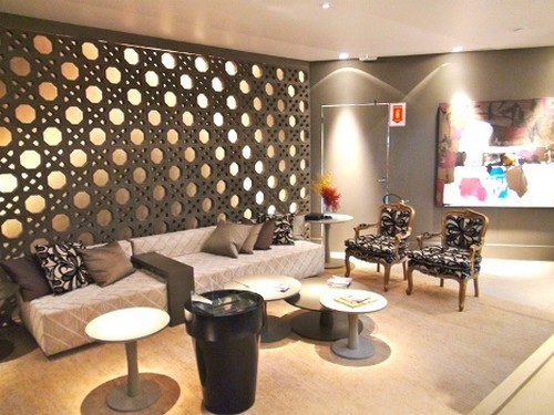 tijolo decorativo para interiores
